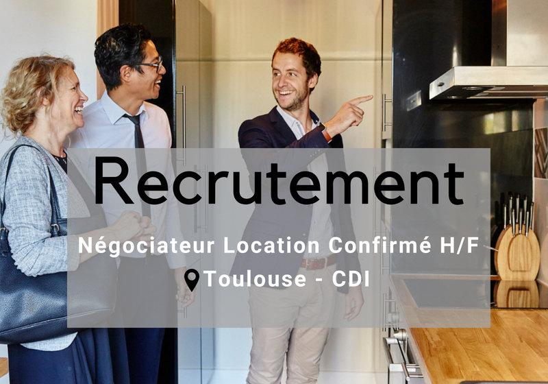 recrutement commercial location toulouse