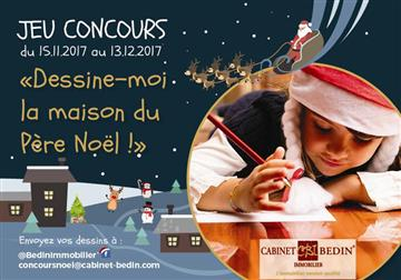 """Jeu Concours """"Dessine-moi la maison du Père Noël"""""""