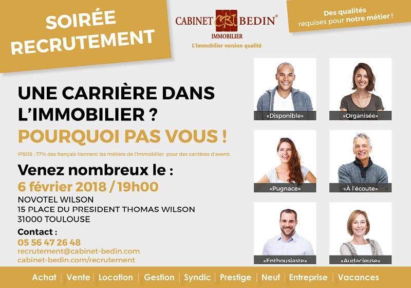 Job Dating Cabinet Bedin 6 Février 2018 à Toulouse