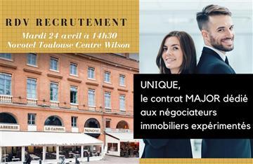 Recrutement Contrat MAJOR Cabinet BEDIN Immobilier Toulouse