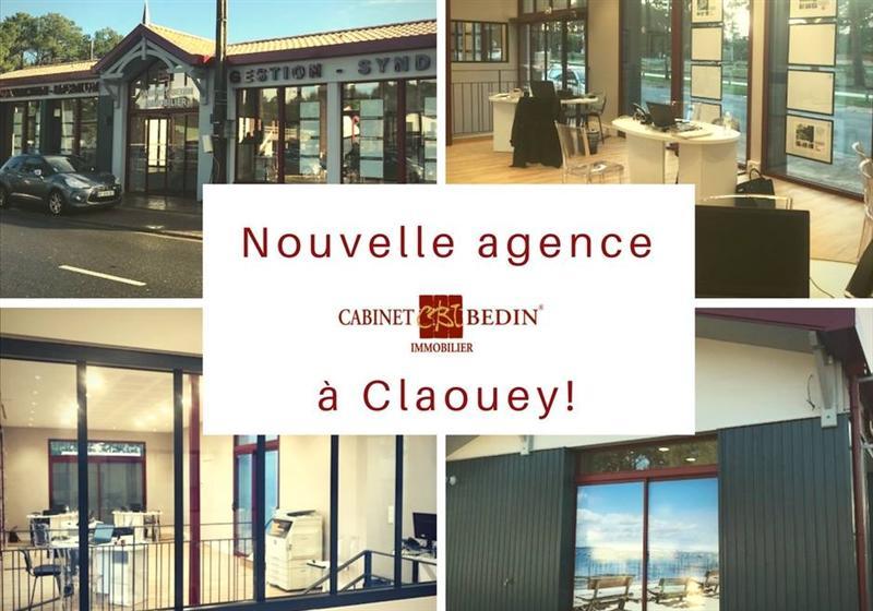 Nouvelle agence immobiliere à Claouey
