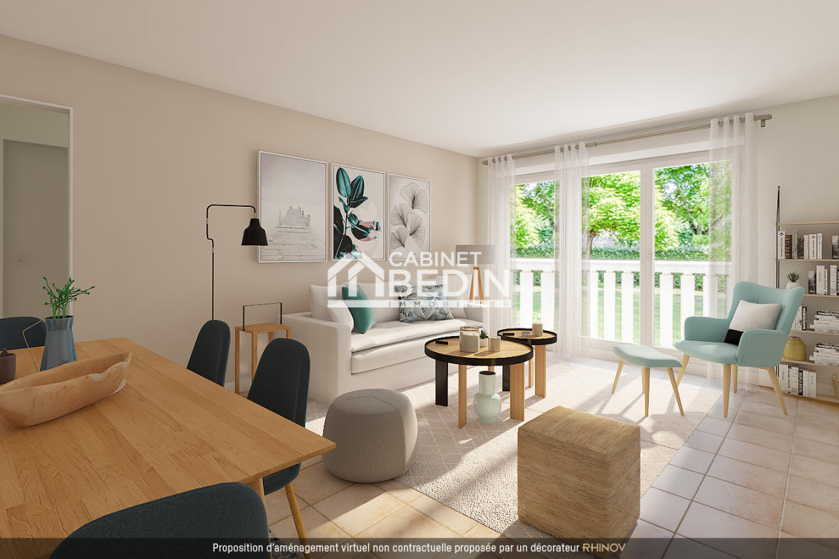 Blanquefort centre - appartement t2