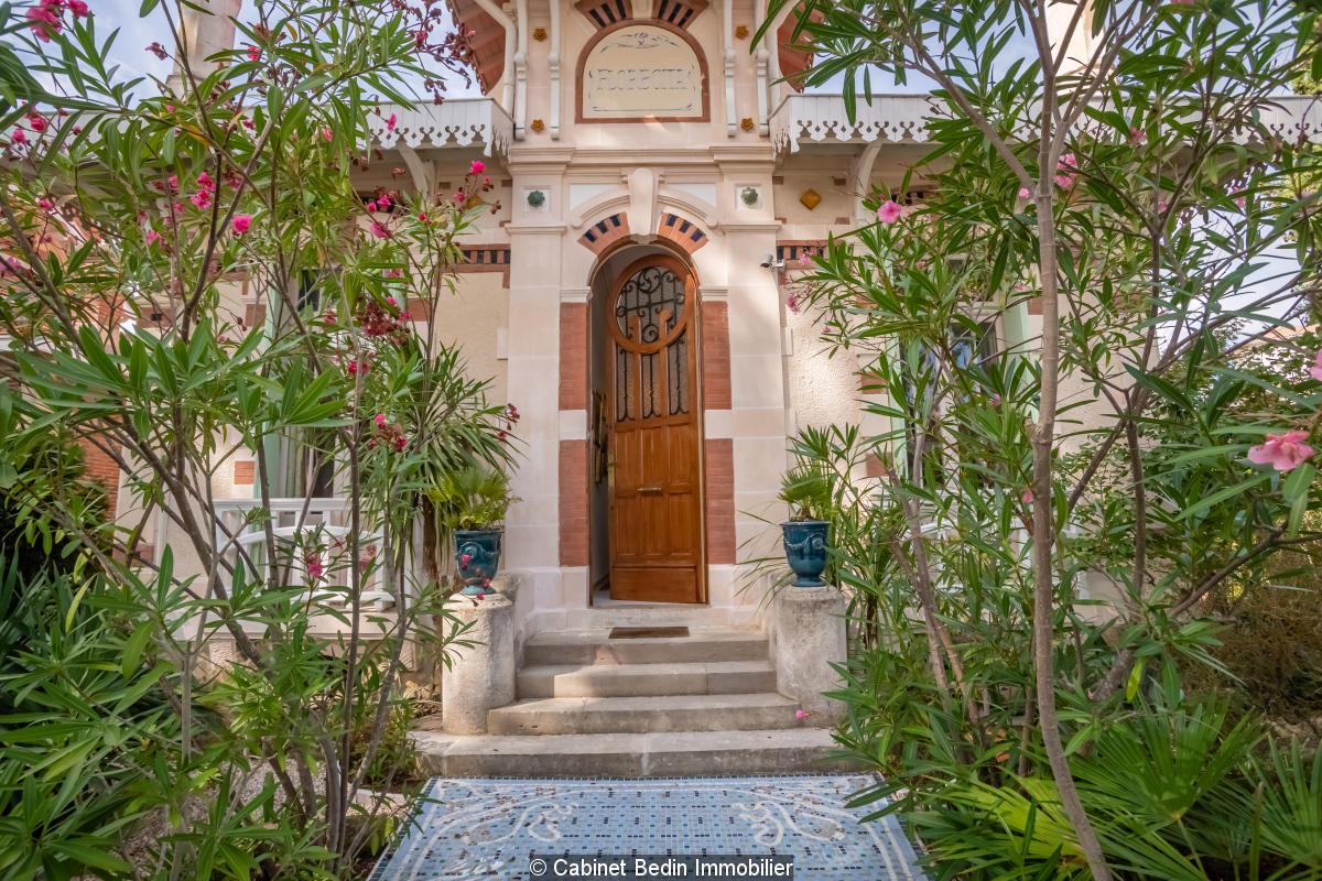 Villa arcachonnaise centre ville