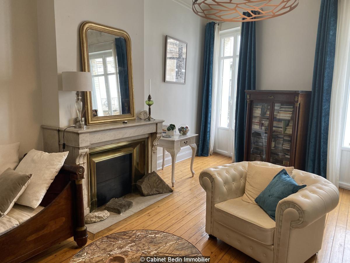 Achat Appartement 6 pieces Bordeaux 3 chambres