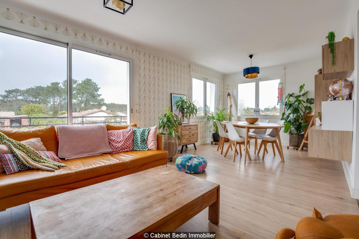 Vente appartement t4 audenge 3 chambres
