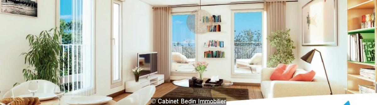 Achat appartement t3 eysines 2 chambres