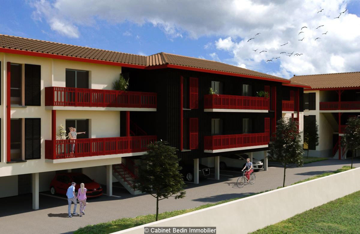 Achat appartement 3 pièces biganos 2 chambres