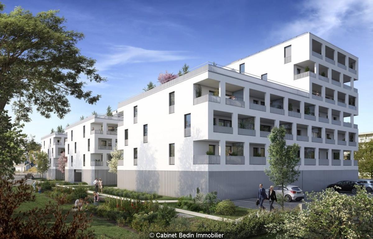 Vente appartement t3 lormont 2 chambres