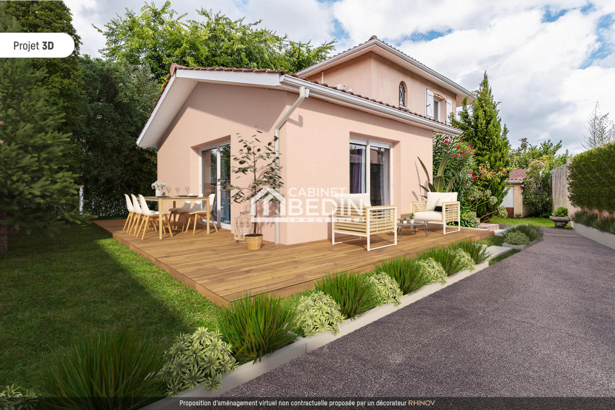 Achat maison 4 pièces bruges 3 chambres