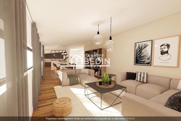 Vente Appartement T4 Libourne 3 chambres