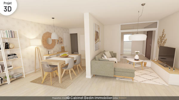 Vente Appartement T5 Blanquefort 3 chambres