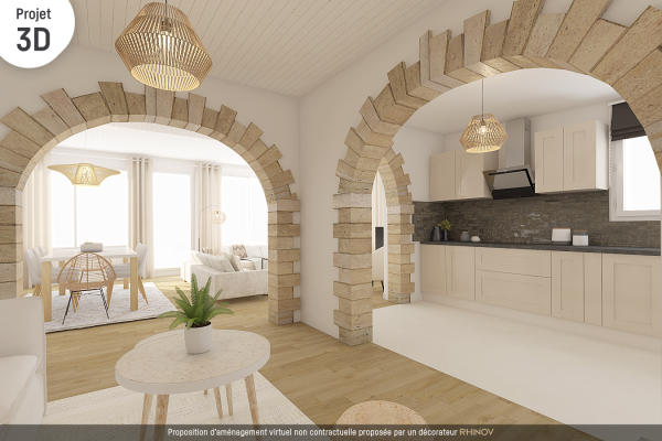 Achat Maison 4 pieces St Gervais 3 chambres