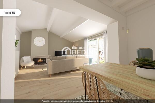 Vente Maison T3 St Andre De Cubzac 2 chambres