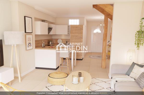Achat Appartement T3 Lanton 2 chambres