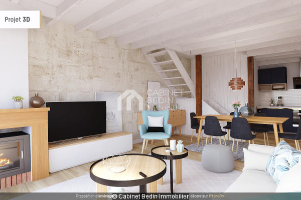 Achat Maison T4 Bordeaux 2 chambres