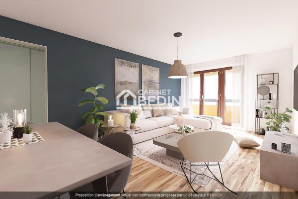 Achat Appartement 3 pieces Le Bouscat 2 chambres
