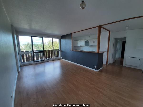 Vente Appartement T3 Carbon Blanc 2 chambres