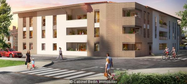 Achat Appartement T3 Beauzelle 2 chambres