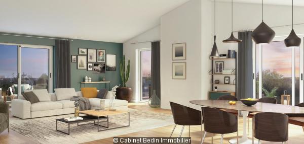 Achat Appartement T3 Le Bouscat 2 chambres