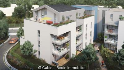Achat Appartement 4 pieces Parempuyre 3 chambres