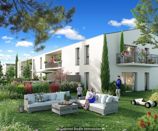 Vente Appartement T3 Le Pian Medoc 2 chambres
