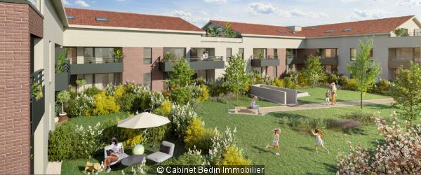 Achat Appartement T3 Escalquens 2 chambres