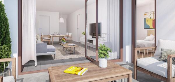 Achat Appartement T3 Lormont 2 chambres