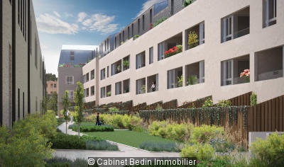 acheter Appartement T3 Bordeaux 2 chambres
