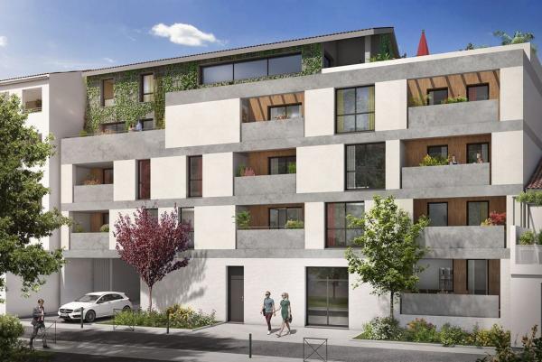 Achat Appartement 3 pièces Toulouse 2 chambres