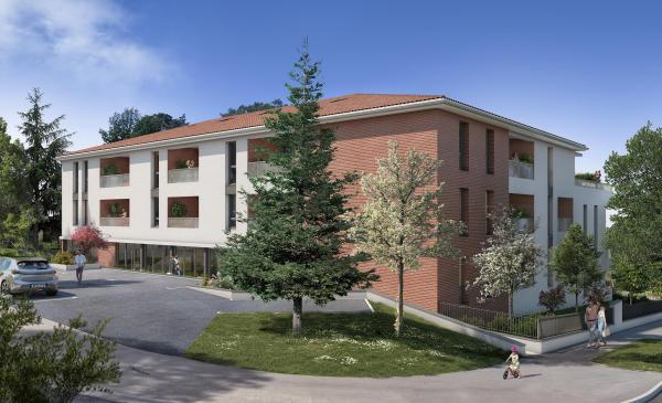 Vente Appartement T3 St Orens De Gameville 2 chambres