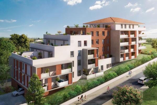 Achat Appartement 3 pieces St Orens De Gameville 2 chambres