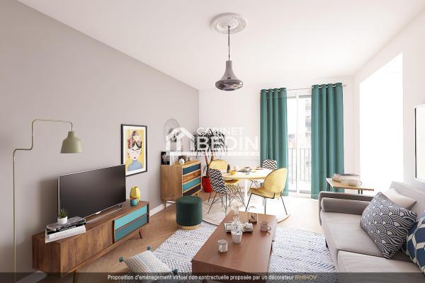 Achat Appartement 4 pièces Toulouse 2 chambres