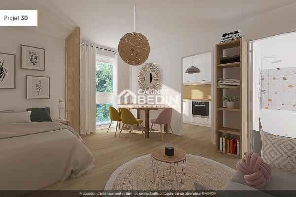 Achat Appartement T1 Bordeaux 1 chambre