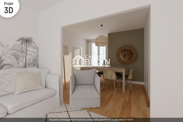 Achat Appartement T4 Toulouse 2 chambres