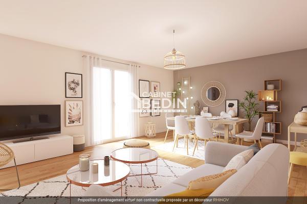 Vente Appartement T3 St Jean 2 chambres