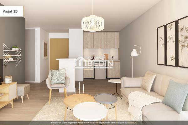 Achat Appartement 3 pieces Launaguet 2 chambres
