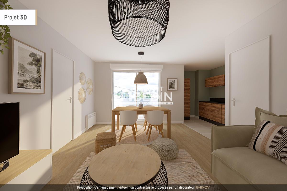 Achat appartement 4 pièces le bouscat 3 chambres