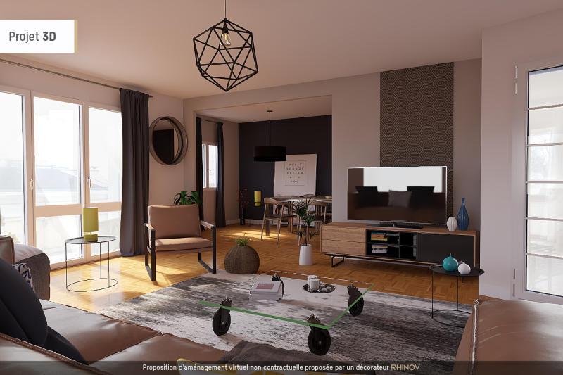 Achat appartement bordeaux t5 3 chambres visitez ce for Simulation 3d salon