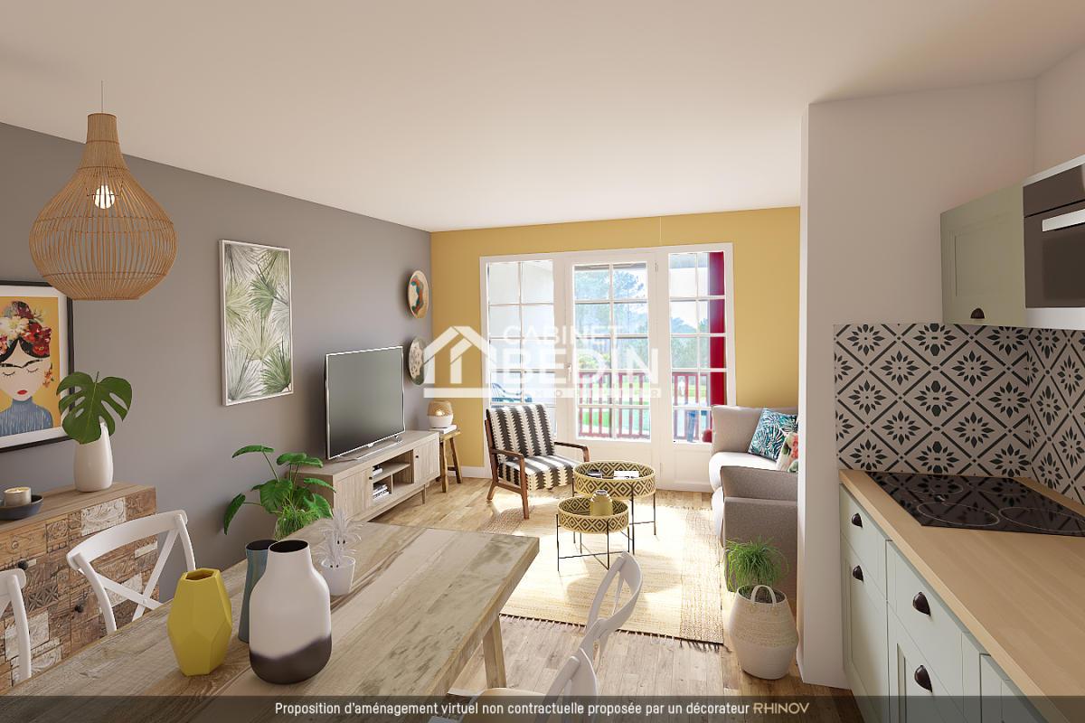 Vente appartement t2 biscarrosse 1 chambre