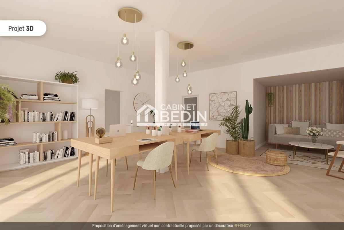 Achat immeuble mixte 3 appartements ares