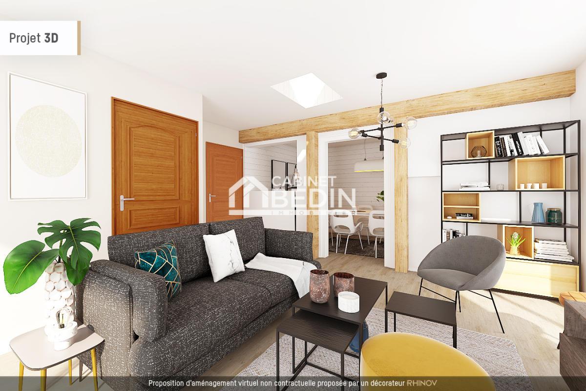 Vente maison t3 coutras 1 chambre