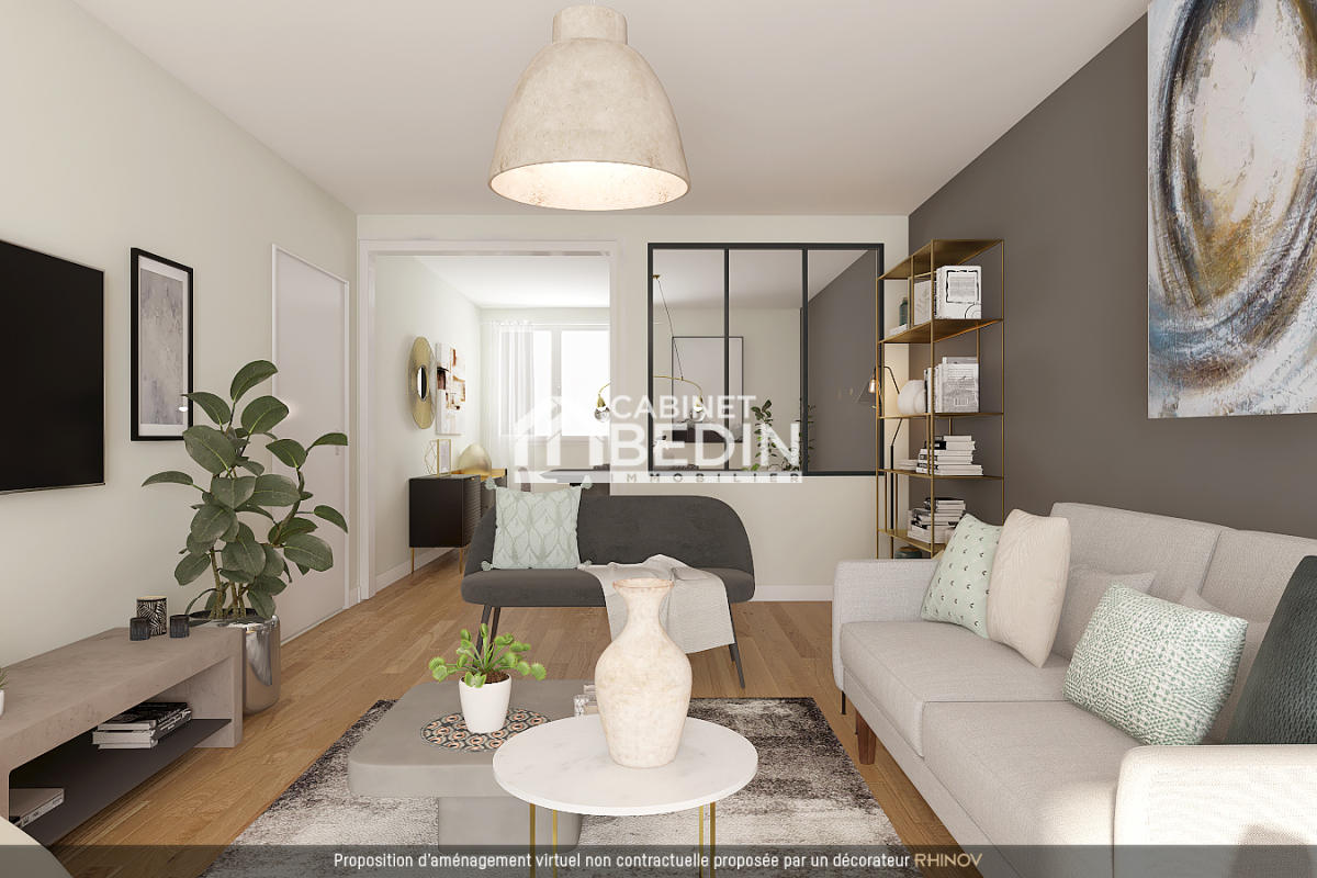Vente appartement t4 merignac 2 chambres